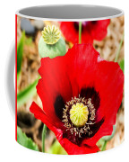 Beautiful Red Poppy Coffee Mug