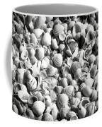 Beautiful Seashells Black And White Coffee Mug