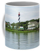 Beautiful St Augustine Lighthouse Waterfront Coffee Mug