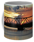 Beautiful Sunset Bridge  Coffee Mug