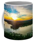 Beautiful Sunset Over Lake Wylie South Carolina Coffee Mug