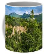 Nature Taking Back Its Place At Vajont Dam Coffee Mug