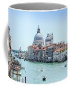 Beautiful View Of Water Street And Old Buildings In Venice, Ital Coffee Mug