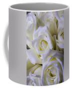 Beautiful White Roses Coffee Mug