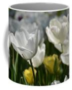 Beautiful White Tulips Coffee Mug