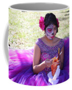 Beautiful Woman Day Of Dead IIi Coffee Mug