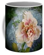 Beauty And The Boulder - Daylily Coffee Mug