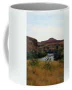Beauty At The Big Horn River Coffee Mug