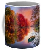 Beauty At The Lake Coffee Mug by Debra and Dave Vanderlaan