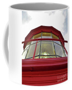 Beauty In The Lighthouse Lens Coffee Mug