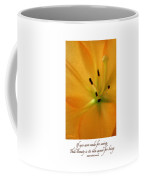 Beauty Is Its Own Excuse Poster Coffee Mug