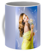 Beauty Of Romance Floating In The Summer Breeze Coffee Mug