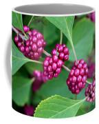 Beautyberry Bush Coffee Mug