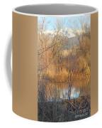 Beaver Dam At Sunset In Colorado            Coffee Mug