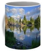 Beaver Dam Reflection In Grand Teton Np Coffee Mug