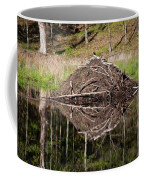 Beaver Lodge Reflection Coffee Mug