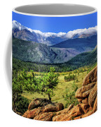 Beaver Meadows In Rocky Mountain National Park Coffee Mug