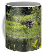 Beaver Pond Scene Coffee Mug