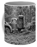 Becoming A Part Of The Landscape Black And White Coffee Mug