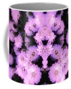 Bed Of Pink Dahlias Coffee Mug