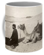 Bedouin At Prayer Coffee Mug