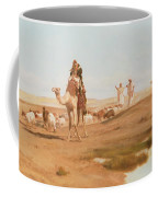 Bedouin In The Desert Coffee Mug