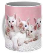 Bedtime Kittens I'm Not Tired Mom Coffee Mug