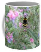 Bee And Flower Coffee Mug