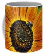 Bee And Sunflower. Coffee Mug