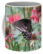 Bee Balm Butterfly Coffee Mug