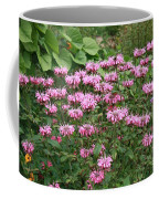 Bee Balm Garden Coffee Mug