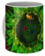 Bee Flower Coffee Mug