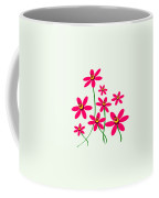 Bee Flowers Coffee Mug