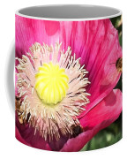 Bee In A Flower Coffee Mug