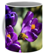 Bee In Flight Coffee Mug