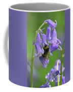 Bee On Bluebell Coffee Mug