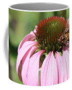 Bee On Echinacea Coffee Mug