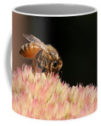 Bee On Flower 2 Coffee Mug