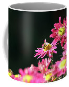 Bee On Flower Spring Scene Coffee Mug