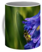 Bee On The Hyacinth Coffee Mug