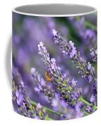 Bee On The Lavender Coffee Mug