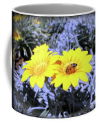 Bee On The Yellow Coffee Mug