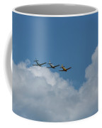 Beechcraft T-34 Mentor Airplane Trio 4 Coffee Mug