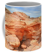 Beehives Above Wash 3 In Valley Of Fire Coffee Mug