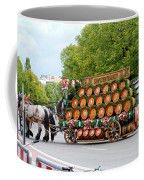 Beer Barrels On Cart Coffee Mug