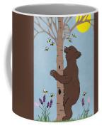 Bees And The Bear Coffee Mug