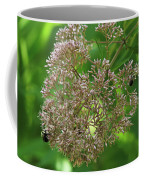 Bees On Joe-pyed Weed Coffee Mug