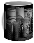 Beeswax Candles With Angels And Pinecones Coffee Mug