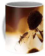 Beetle And Black Eyed Susan Coffee Mug