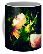 Beetle Hanging Out With Hibiscus Flowers Coffee Mug